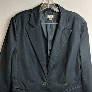 Worthington size 16 dark gray Blazer